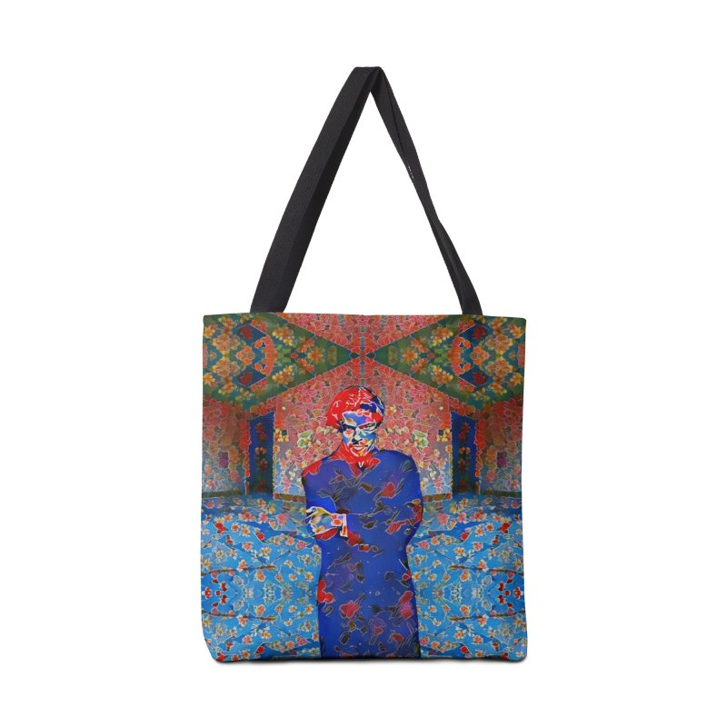 Portrait of a Young Immigrant Accessories Bag by zuzugraphics's Artist Shop