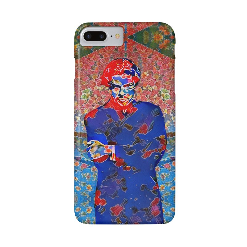 Portrait of a Young Immigrant Accessories Phone Case by zuzugraphics's Artist Shop