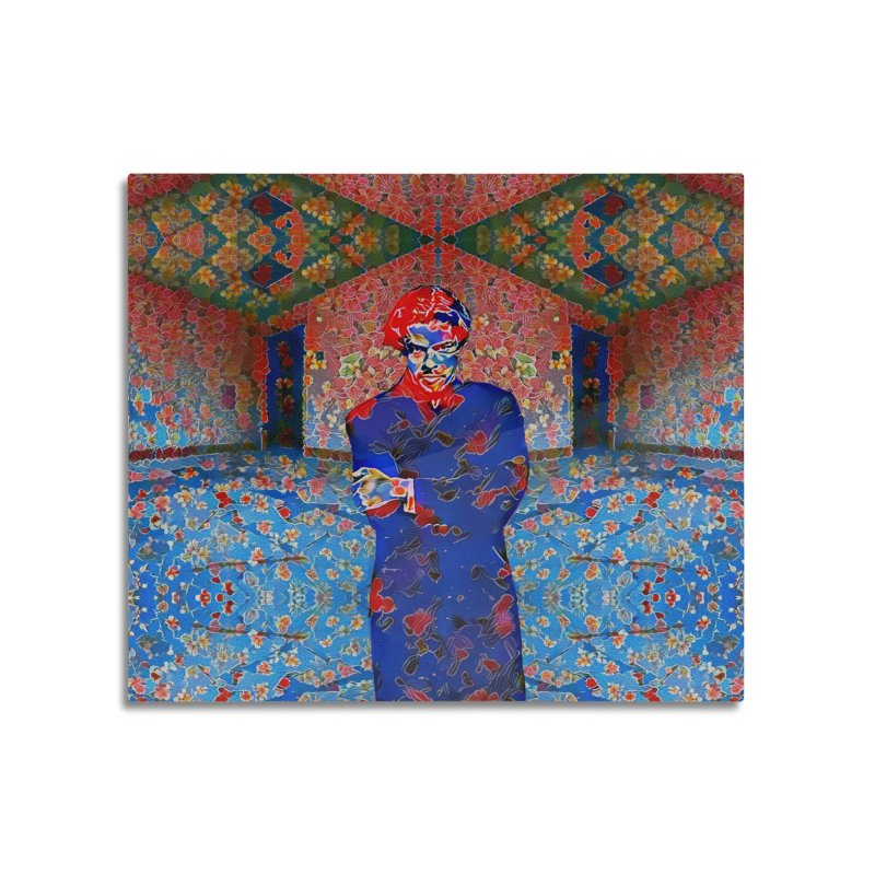 Portrait of a Young Immigrant Home Mounted Acrylic Print by zuzugraphics's Artist Shop