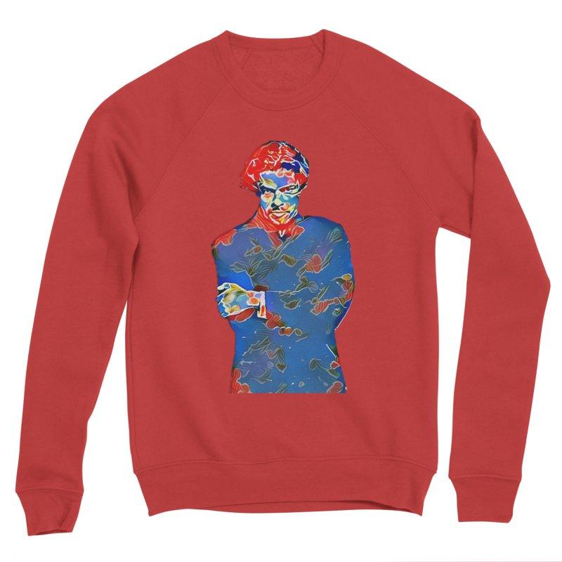 Portrait of a Young Immigrant Men's Sponge Fleece Sweatshirt by zuzugraphics's Artist Shop