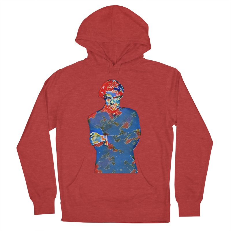 Portrait of a Young Immigrant Men's French Terry Pullover Hoody by zuzugraphics's Artist Shop