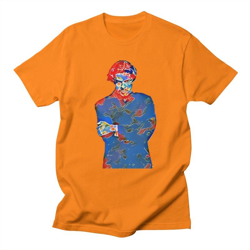 Portrait of a Young Immigrant Women's Unisex T-Shirt by zuzugraphics's Artist Shop