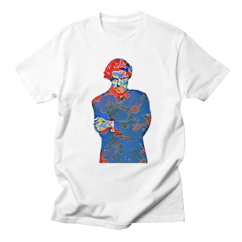 Portrait of a Young Immigrant Men's Regular T-Shirt by zuzugraphics's Artist Shop
