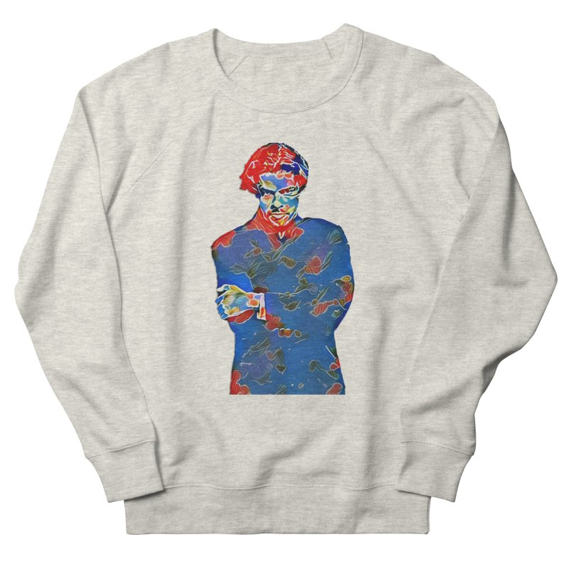 Portrait of a Young Immigrant Women's French Terry Sweatshirt by zuzugraphics's Artist Shop