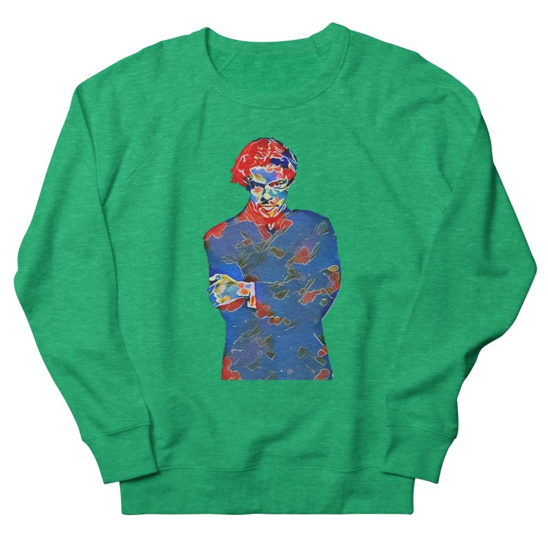 Portrait of a Young Immigrant Men's Sweatshirt by zuzugraphics's Artist Shop