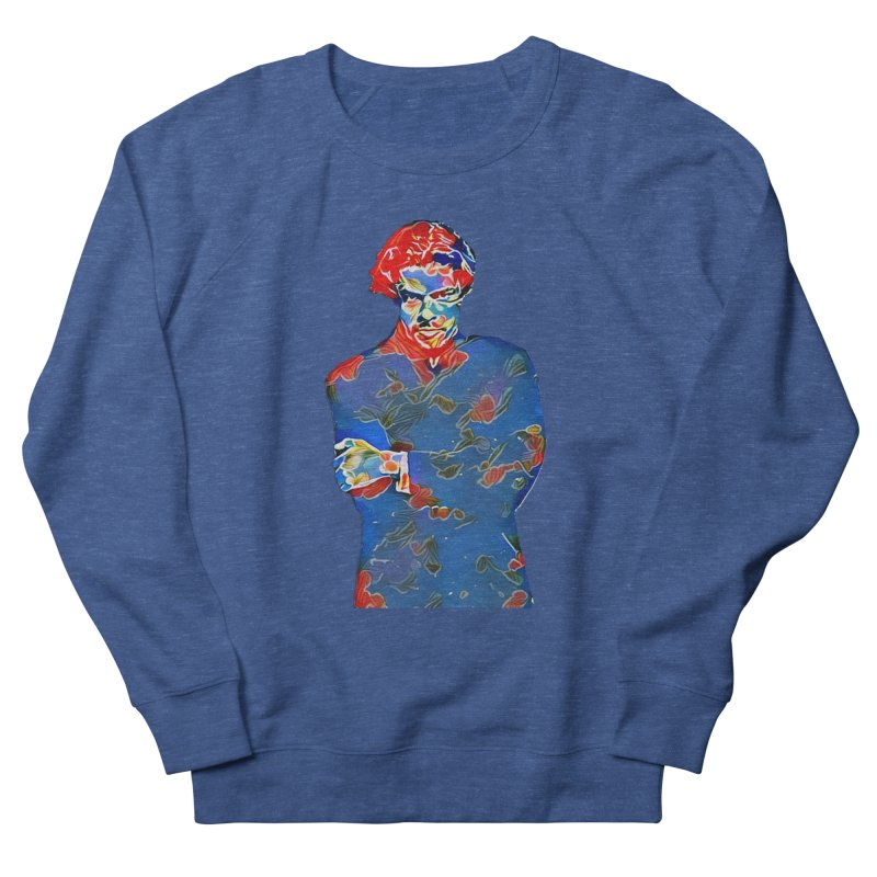 Portrait of a Young Immigrant Men's French Terry Sweatshirt by zuzugraphics's Artist Shop