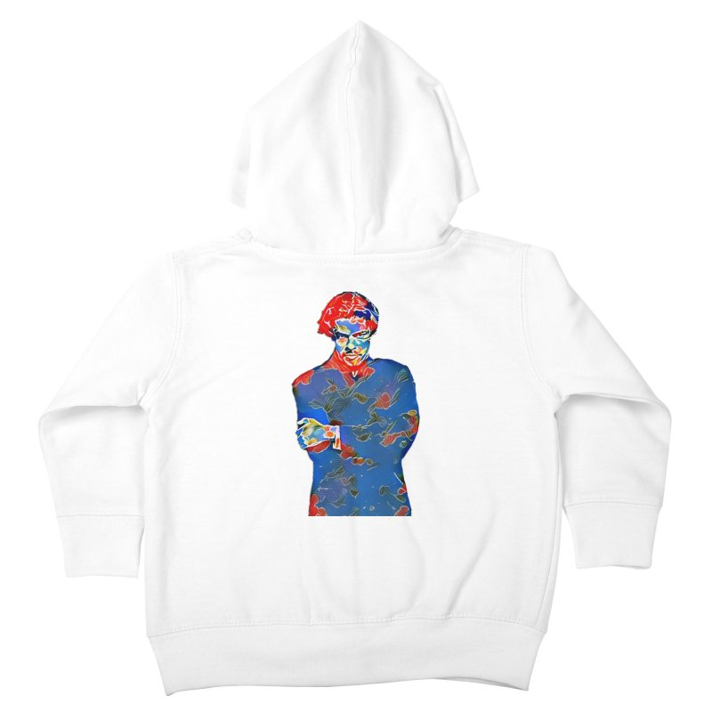 Portrait of a Young Immigrant Kids Toddler Zip-Up Hoody by zuzugraphics's Artist Shop