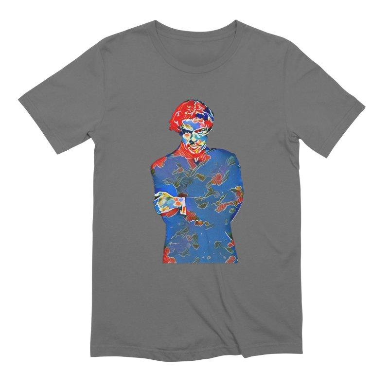 Portrait of a Young Immigrant Men's T-Shirt by zuzugraphics's Artist Shop