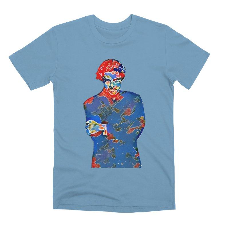 Portrait of a Young Immigrant Men's Premium T-Shirt by zuzugraphics's Artist Shop