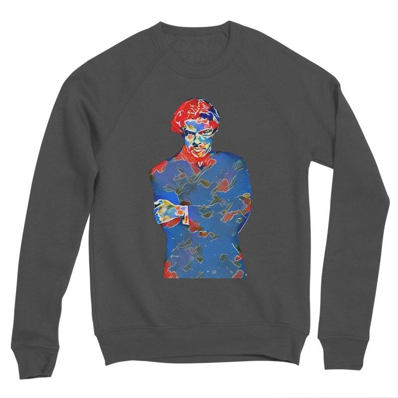 Portrait of a Young Immigrant Women's Sponge Fleece Sweatshirt by zuzugraphics's Artist Shop
