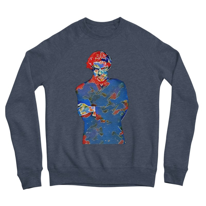 Portrait of a Young Immigrant Men's Sponge Fleece Sweatshirt by zuzugraphics's Artist Shop