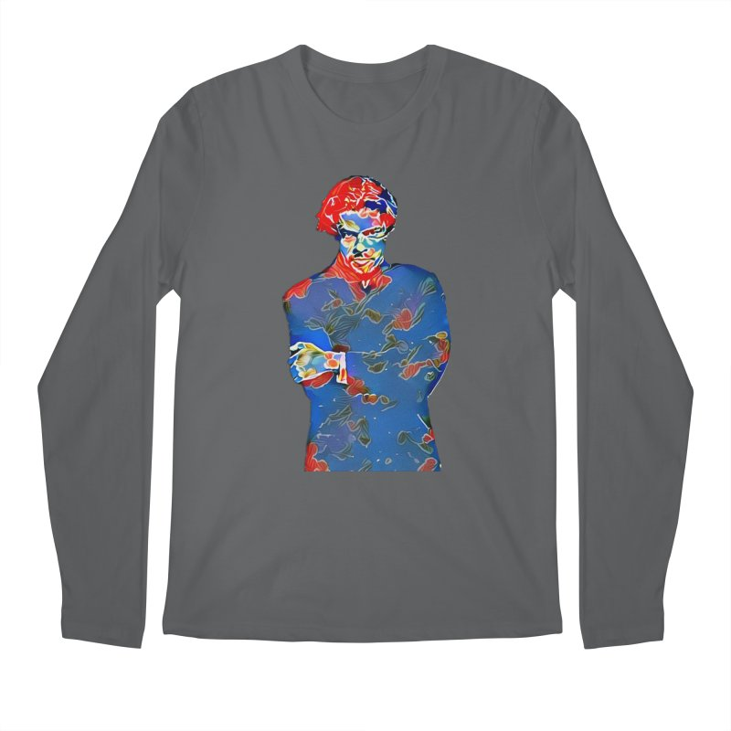 Portrait of a Young Immigrant Men's Longsleeve T-Shirt by zuzugraphics's Artist Shop