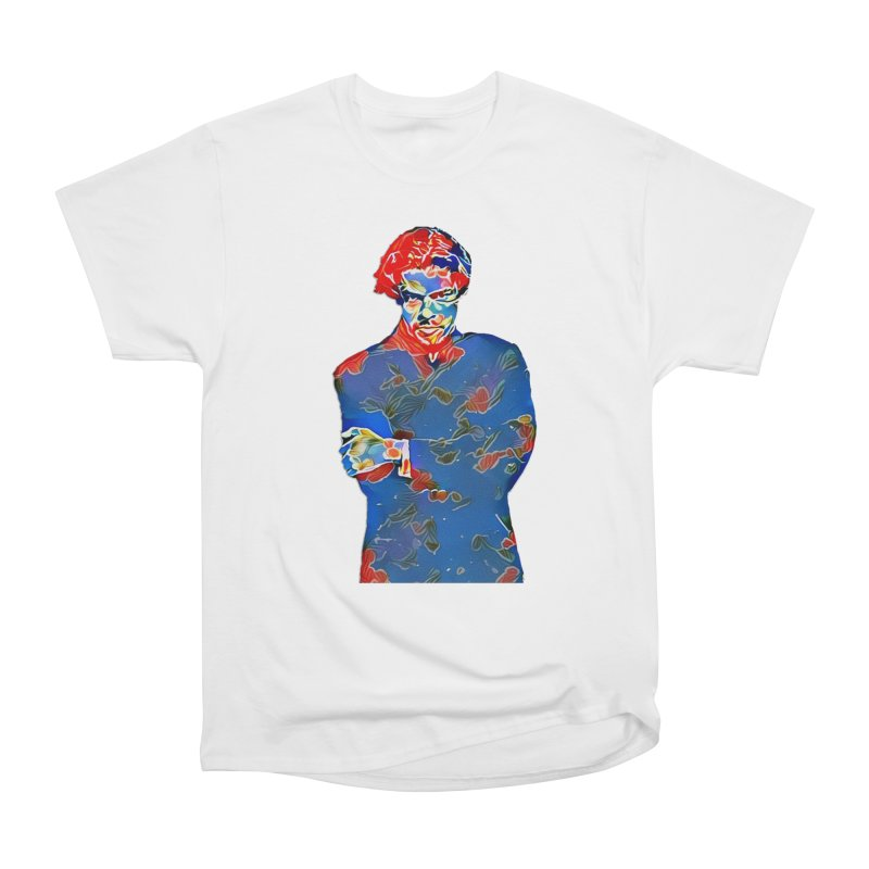 Portrait of a Young Immigrant Women's Heavyweight Unisex T-Shirt by zuzugraphics's Artist Shop