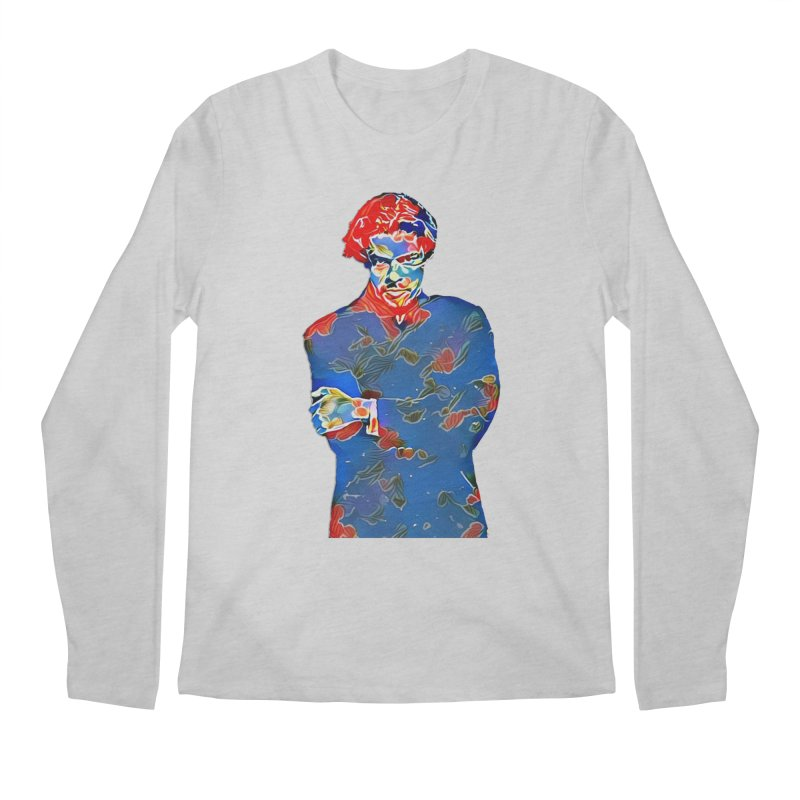 Portrait of a Young Immigrant Men's Regular Longsleeve T-Shirt by zuzugraphics's Artist Shop