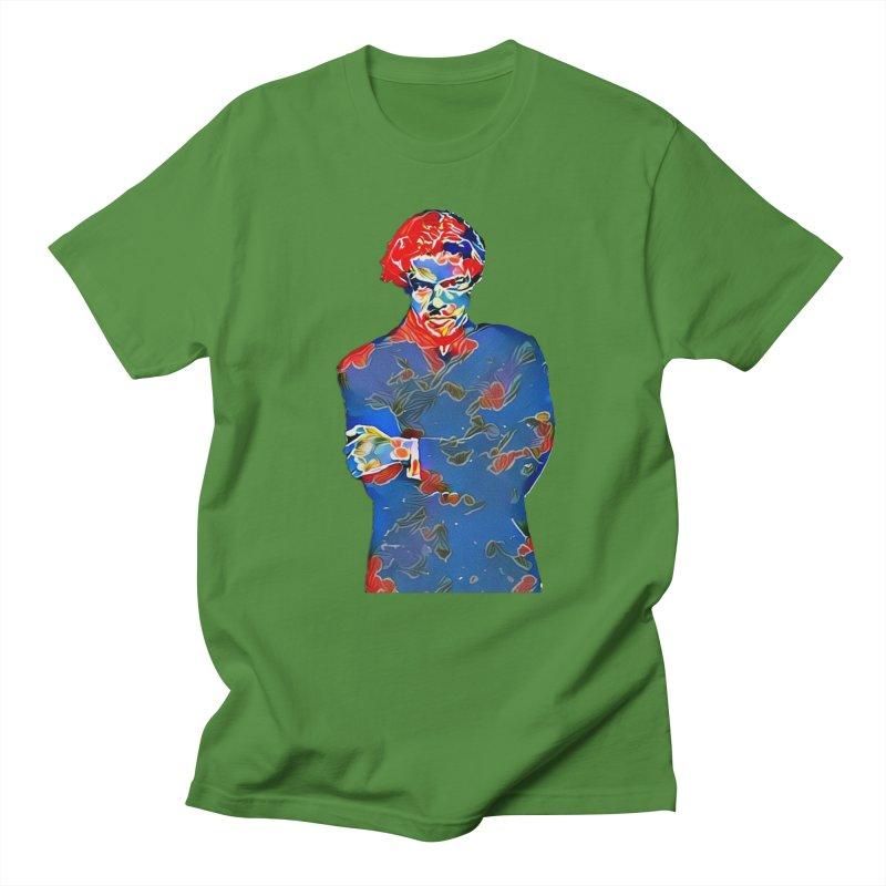 Portrait of a Young Immigrant Women's Regular Unisex T-Shirt by zuzugraphics's Artist Shop
