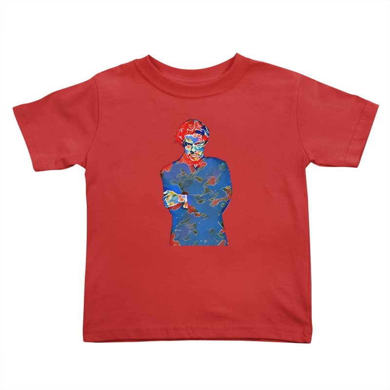 Portrait of a Young Immigrant Kids Toddler T-Shirt by zuzugraphics's Artist Shop