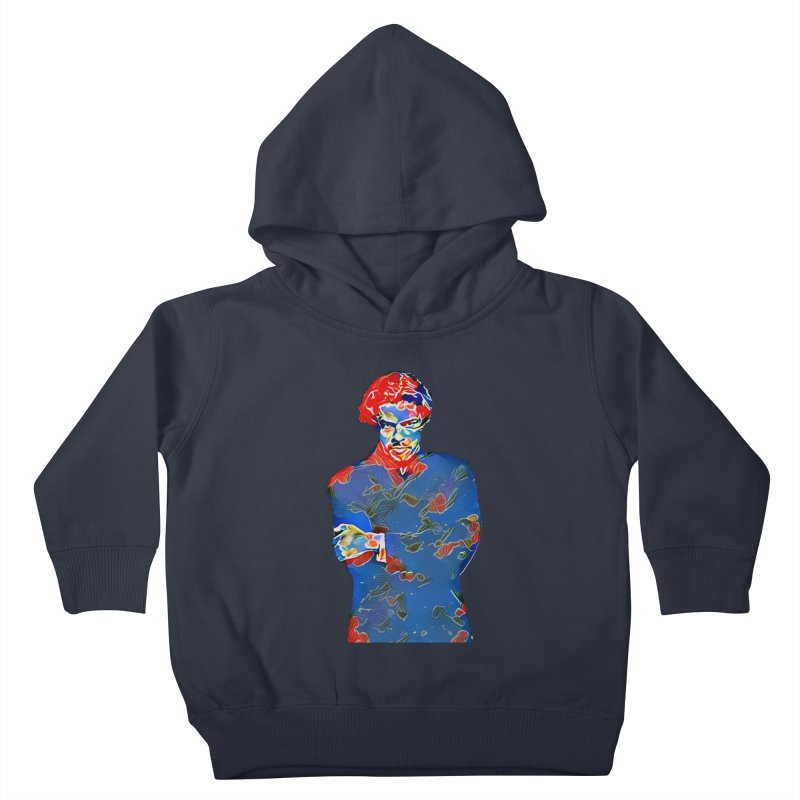 Portrait of a Young Immigrant Kids Toddler Pullover Hoody by zuzugraphics's Artist Shop