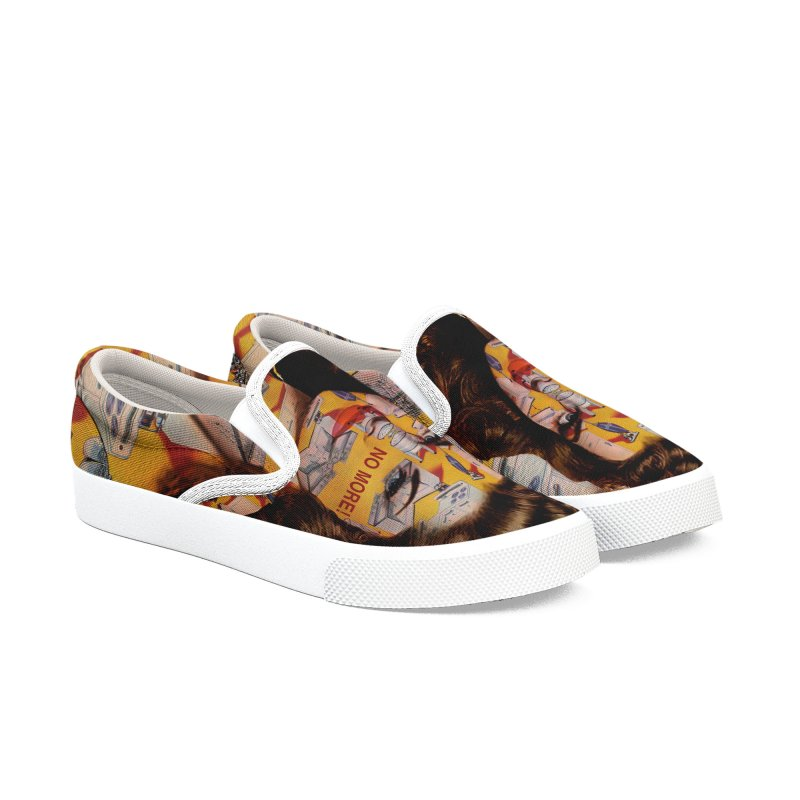 No More Kitchen Appliances for my Birthday! Men's Slip-On Shoes by zuzugraphics's Artist Shop