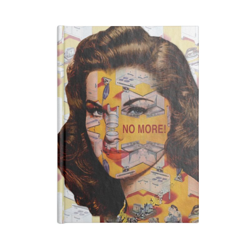 No More Kitchen Appliances for my Birthday! Accessories Lined Journal Notebook by zuzugraphics's Artist Shop