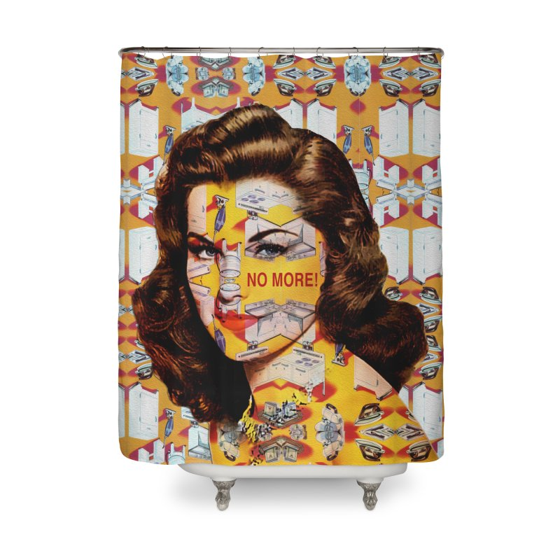 No More Kitchen Appliances for my Birthday! Home Shower Curtain by zuzugraphics's Artist Shop