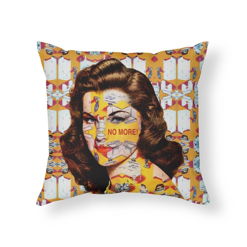 No More Kitchen Appliances for my Birthday! Home Throw Pillow by zuzugraphics's Artist Shop