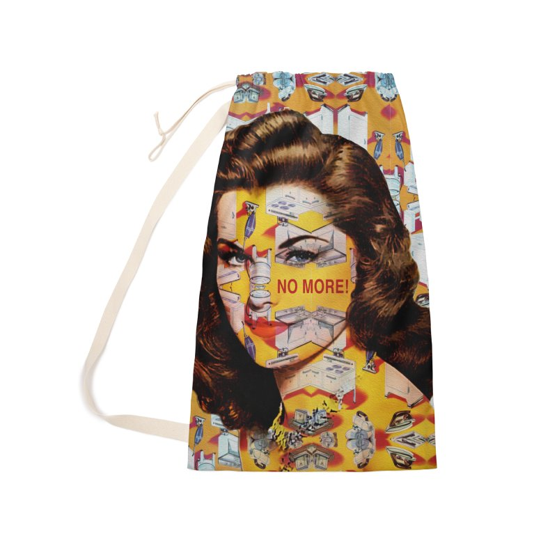 No More Kitchen Appliances for my Birthday! Accessories Laundry Bag Bag by zuzugraphics's Artist Shop