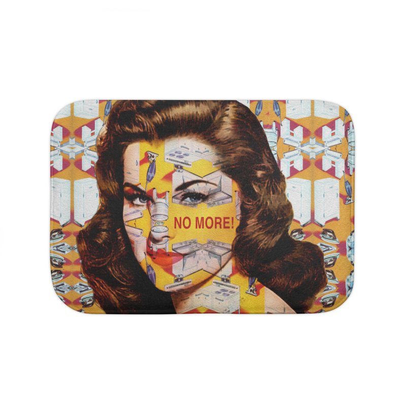 No More Kitchen Appliances for my Birthday! Home Bath Mat by zuzugraphics's Artist Shop