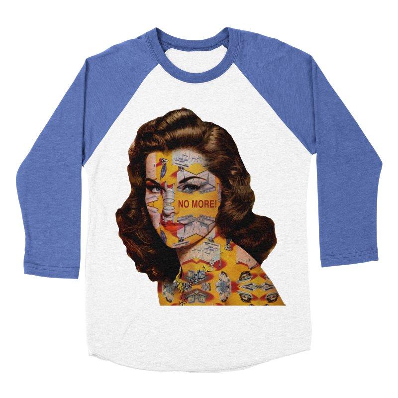 No More Kitchen Appliances for my Birthday! Men's Baseball Triblend Longsleeve T-Shirt by zuzugraphics's Artist Shop