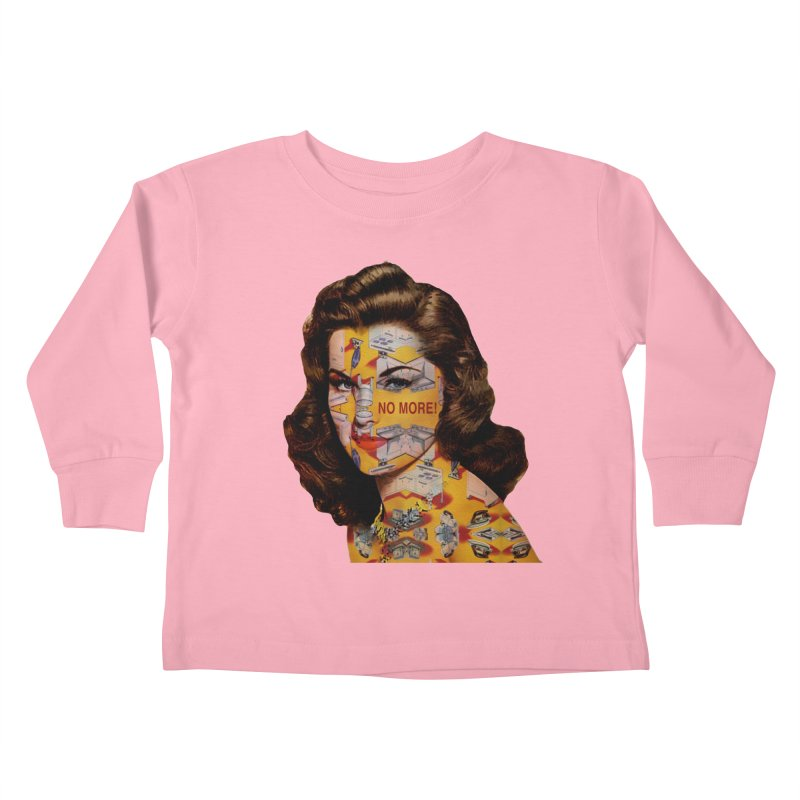 No More Kitchen Appliances for my Birthday! Kids Toddler Longsleeve T-Shirt by zuzugraphics's Artist Shop