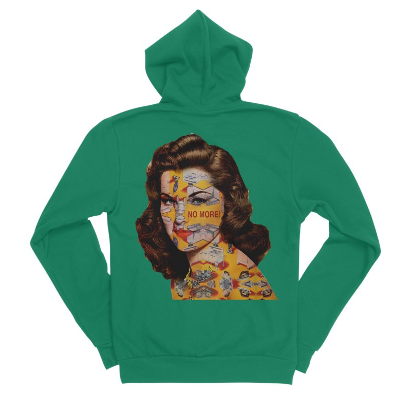 No More Kitchen Appliances for my Birthday! Women's Sponge Fleece Zip-Up Hoody by zuzugraphics's Artist Shop