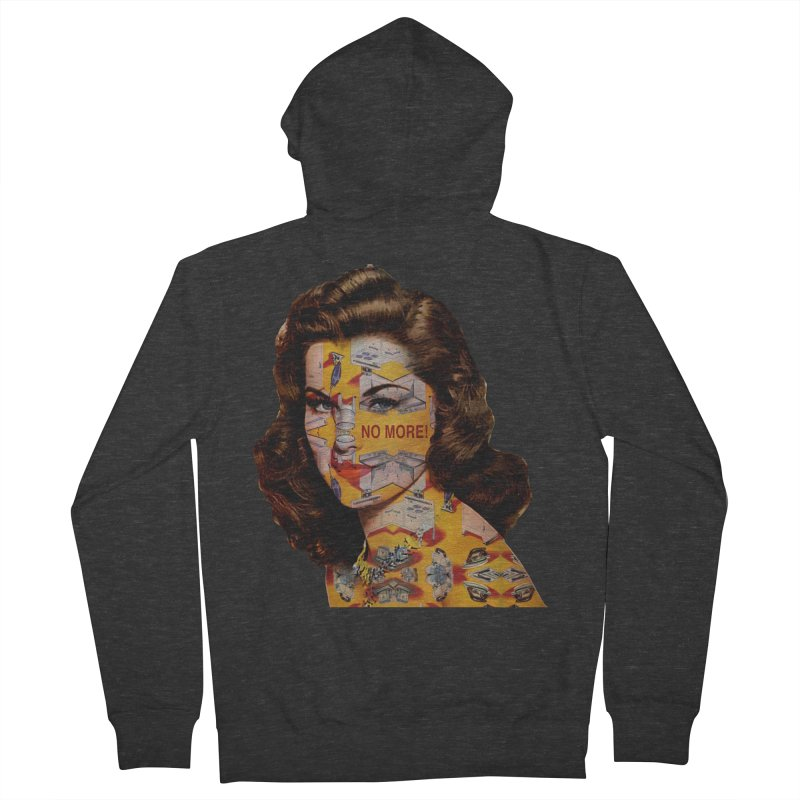 No More Kitchen Appliances for my Birthday! Women's French Terry Zip-Up Hoody by zuzugraphics's Artist Shop