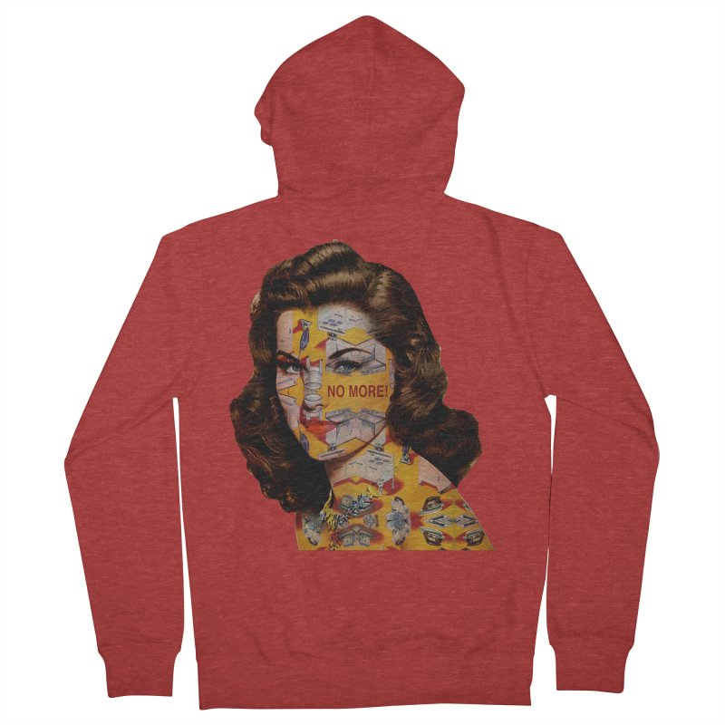 No More Kitchen Appliances for my Birthday! Men's French Terry Zip-Up Hoody by zuzugraphics's Artist Shop