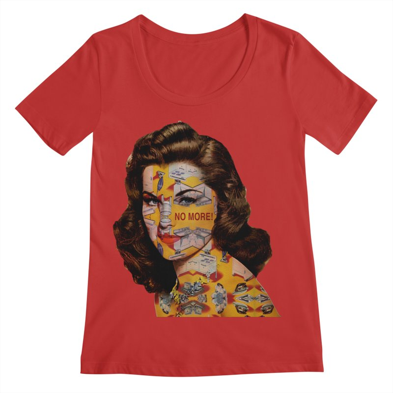 No More Kitchen Appliances for my Birthday! Women's Regular Scoop Neck by zuzugraphics's Artist Shop