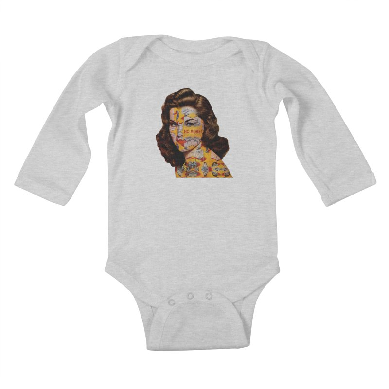 No More Kitchen Appliances for my Birthday! Kids Baby Longsleeve Bodysuit by zuzugraphics's Artist Shop