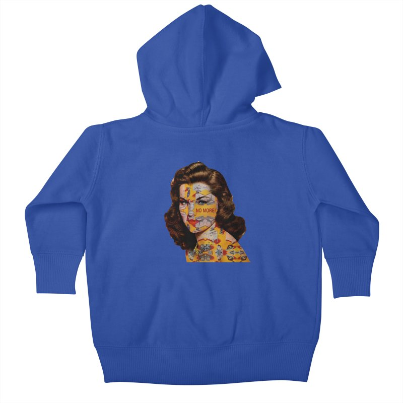 No More Kitchen Appliances for my Birthday! Kids Baby Zip-Up Hoody by zuzugraphics's Artist Shop