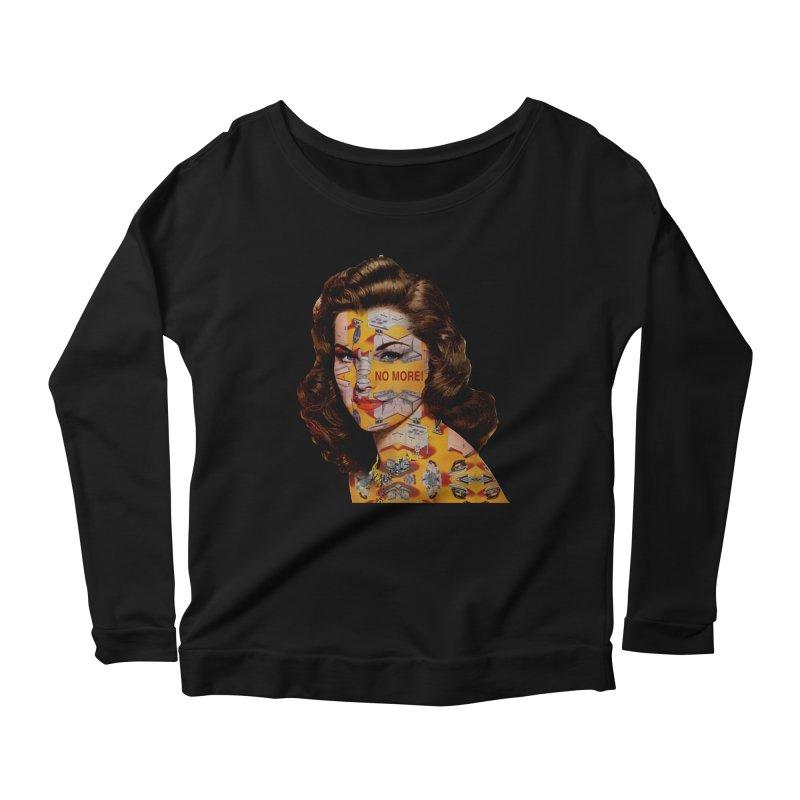 No More Kitchen Appliances for my Birthday! Women's Scoop Neck Longsleeve T-Shirt by zuzugraphics's Artist Shop