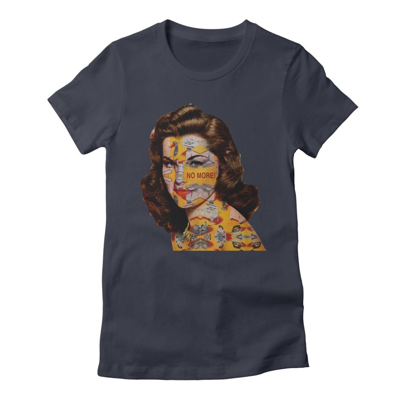 No More Kitchen Appliances for my Birthday! Women's Fitted T-Shirt by zuzugraphics's Artist Shop