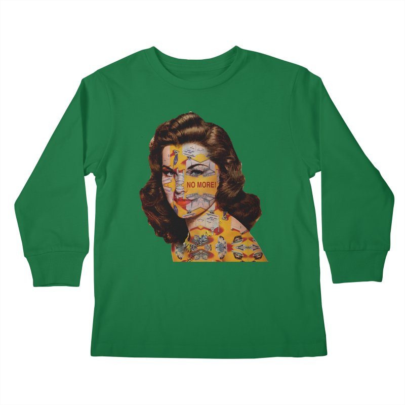 No More Kitchen Appliances for my Birthday! Kids Longsleeve T-Shirt by zuzugraphics's Artist Shop