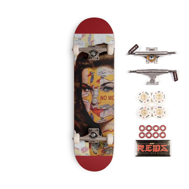 No More Kitchen Appliances for my Birthday! Accessories Complete - Pro Skateboard by zuzugraphics's Artist Shop