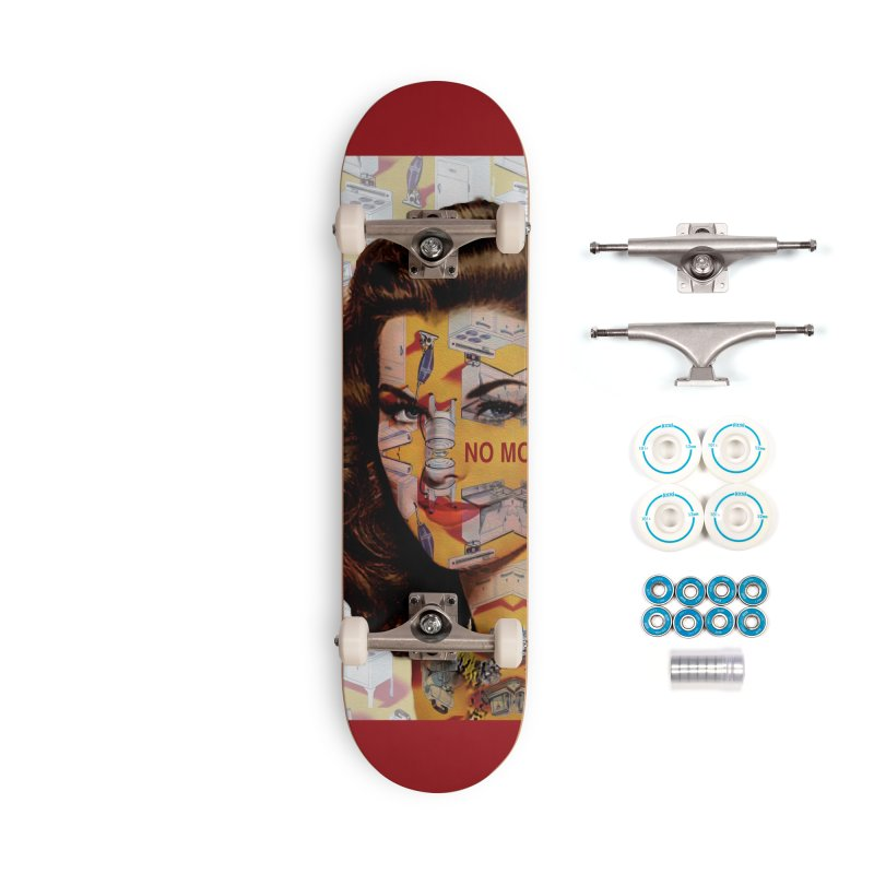No More Kitchen Appliances for my Birthday! Accessories Skateboard by zuzugraphics's Artist Shop