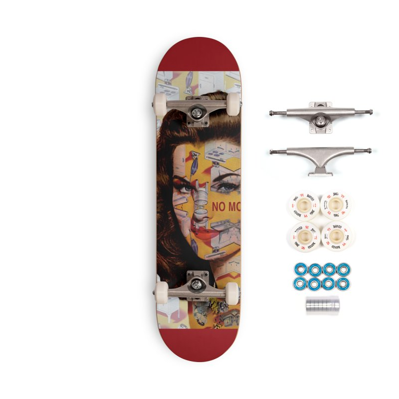 No More Kitchen Appliances for my Birthday! Accessories Complete - Premium Skateboard by zuzugraphics's Artist Shop