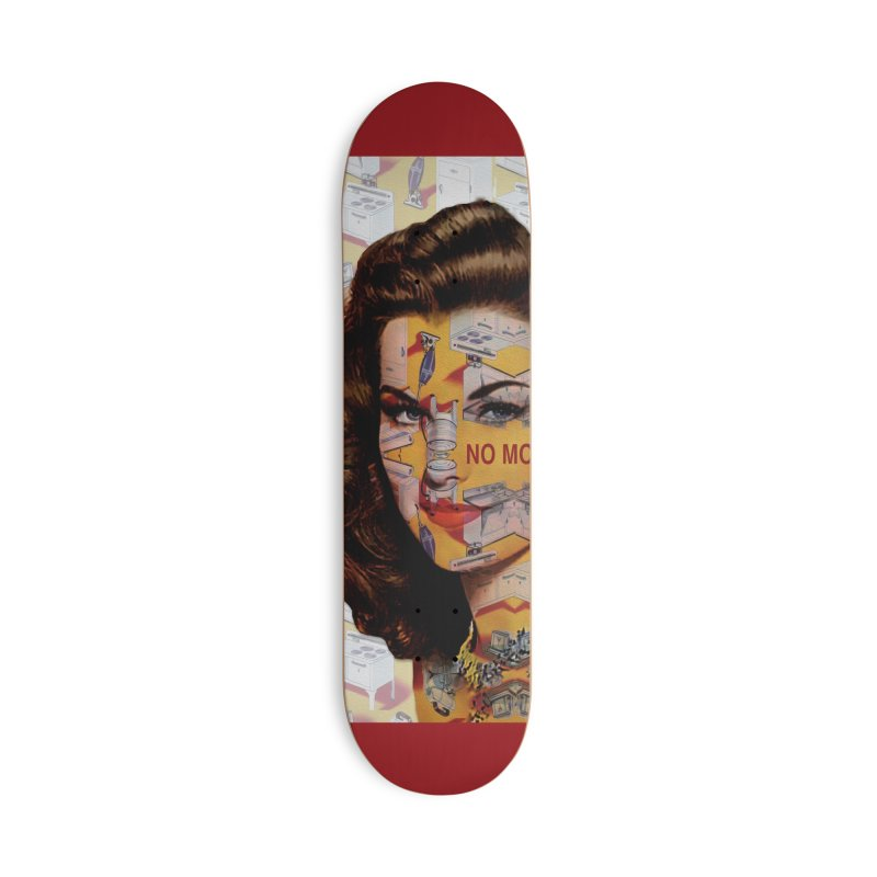 No More Kitchen Appliances for my Birthday! Accessories Deck Only Skateboard by zuzugraphics's Artist Shop