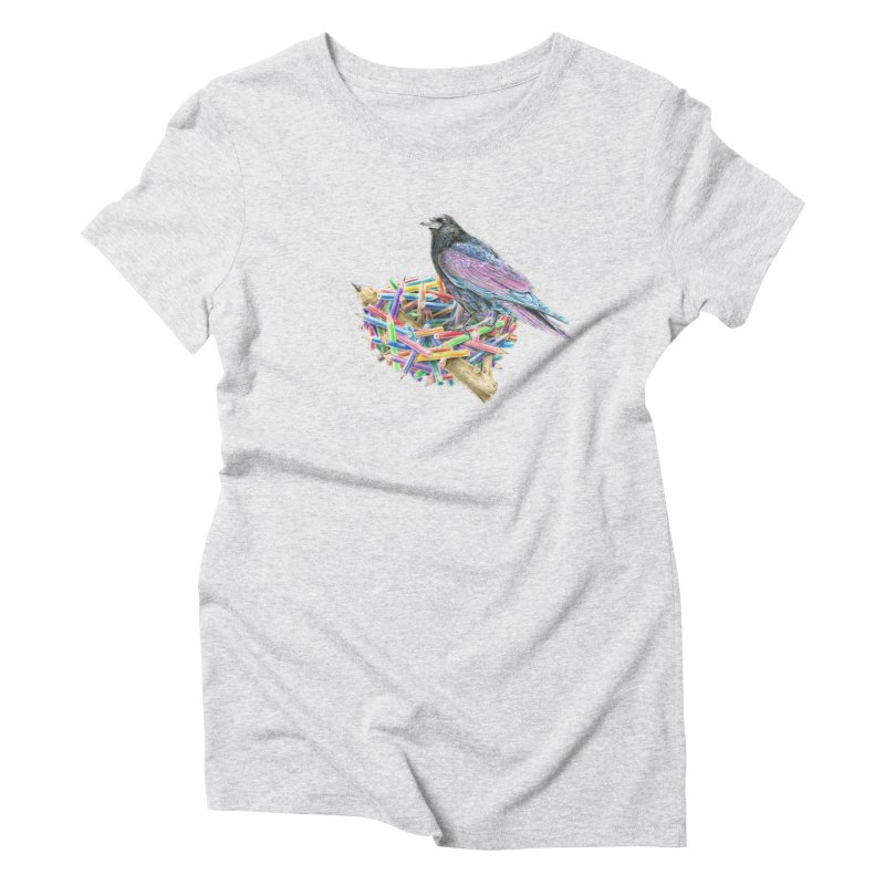 The Artist Women's Triblend T-shirt by Andrej Zwetzig