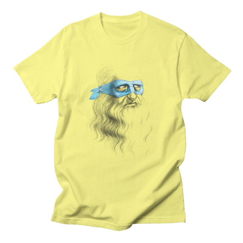 Leonardo's Secret Men's T-Shirt by Andrej Zwetzig
