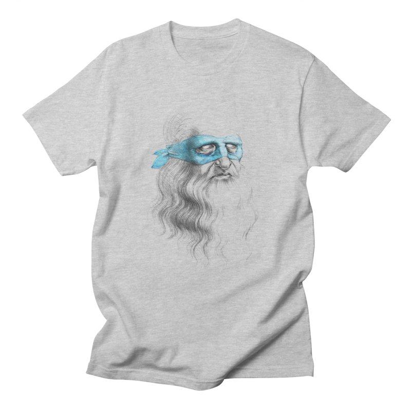 Leonardo's Secret Men's T-shirt by Andrej Zwetzig