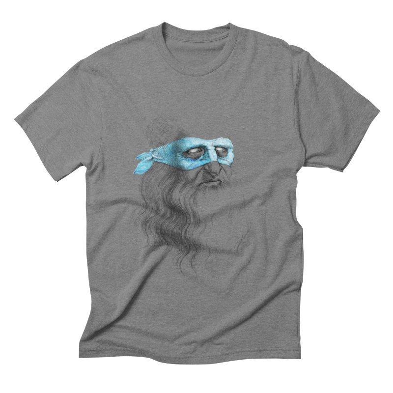 Leonardo's Secret Men's Triblend T-shirt by Andrej Zwetzig