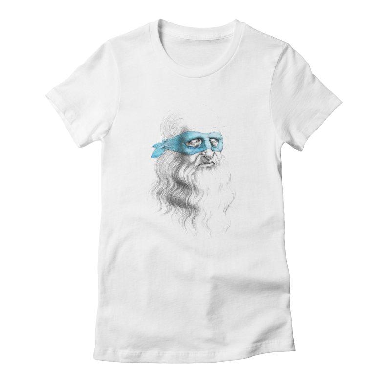Leonardo's Secret Women's Fitted T-Shirt by Andrej Zwetzig