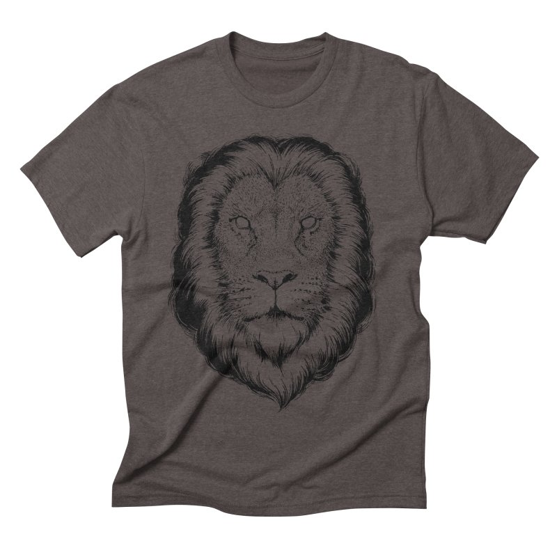 Löwe Men's Triblend T-shirt by Andrej Zwetzig