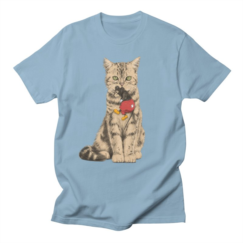 Mickey The Cat Men's T-Shirt by Andrej Zwetzig