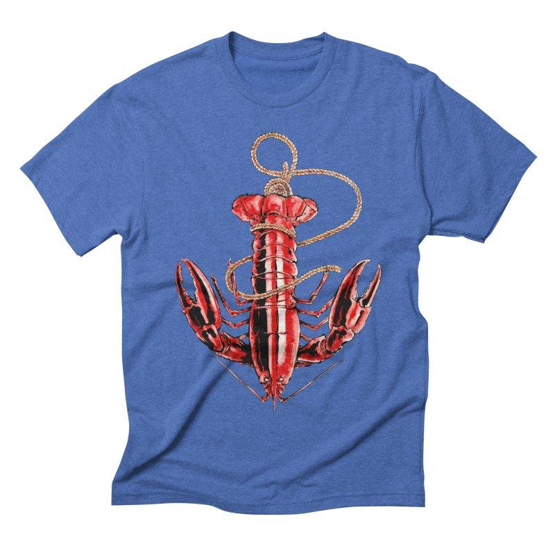 Anchor Men's Triblend T-shirt by Andrej Zwetzig
